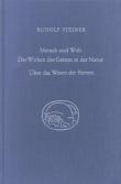 Boeken van Rudolf Steiner Mensch und Welt. Das Wirken des Geistes in der Natur - über das Wesen der Bienen GA 351 - 9783727435102