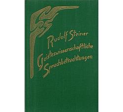 Boeken van Rudolf Steiner  Geisteswissenschaftliche Sprachbetrachtungen GA 299 - 9783727429903