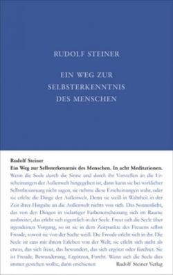 Boeken van Rudolf Steiner Ein Weg zur Selbsterkenntnis GA 16 - 9783727401626