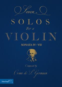 CD's en Bladmuziek van de Graaf van Saint Germain Die Musik des Grafen von Saint Germain – Noten – Seven Solos for a Violin - HE1618