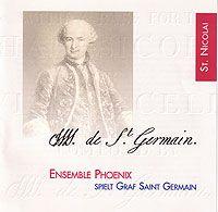 CD's und Noten des Grafen von Saint Germain Die Musik des Grafen von Saint Germain – CD 1 - Ehn 84053