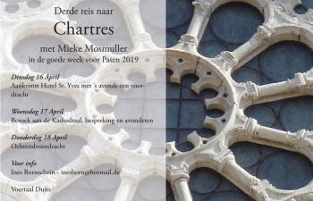 Derde reis naar Chartres met Mieke Mosmuller